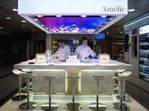 Amélie Ostras pop-up bar El Corte Inglés