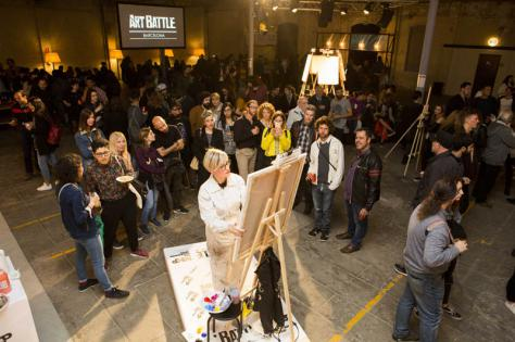 Art Battle at Utopia 126