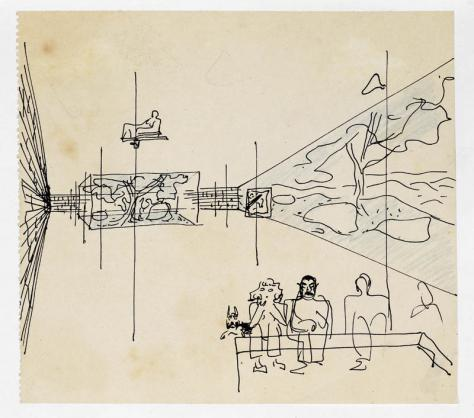 Lina Bo Bardi Drawing