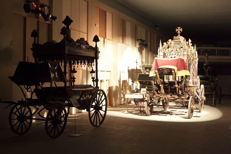 Montjuïc Cemetary funerary carriages collection