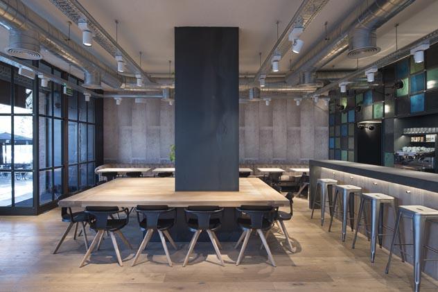 Industrial Raw. OhBo ORGANIC Café | b-ing | b-guided Barcelona